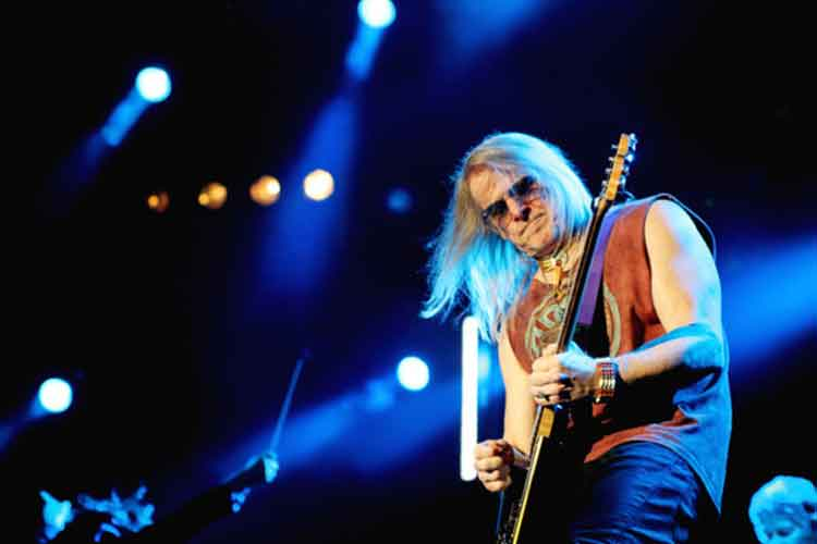 Deep Purple en el festival Suikerrock. Foto © Wannabes.be
