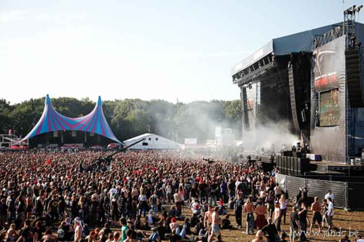 Graspop Festival. Foto © Visit Flanders