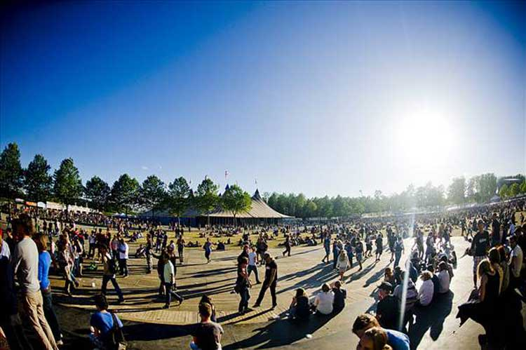 Festival Rock Werchter. Foto © Jokko