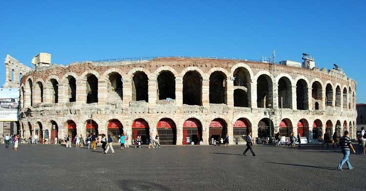 Arena de Verona, el tercer mayor anfiteatro del mundo