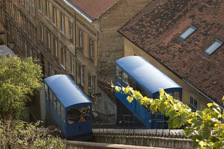 Funicular de Zagreb, Croacia Inspírate para visitar Zagreb viajar a Croacia | Tu Gran Viaje