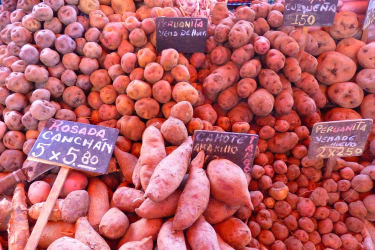 Mercado de Lima, Perú