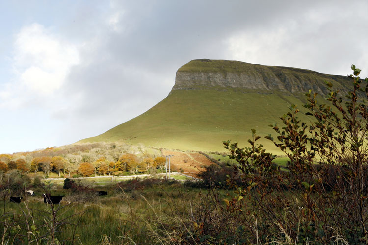 Ben Bulben, condado de Sligo, Irlanda