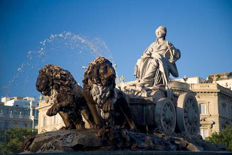 Plaza de Cibeles, Madrid. Foto © Turismo de Madrid
