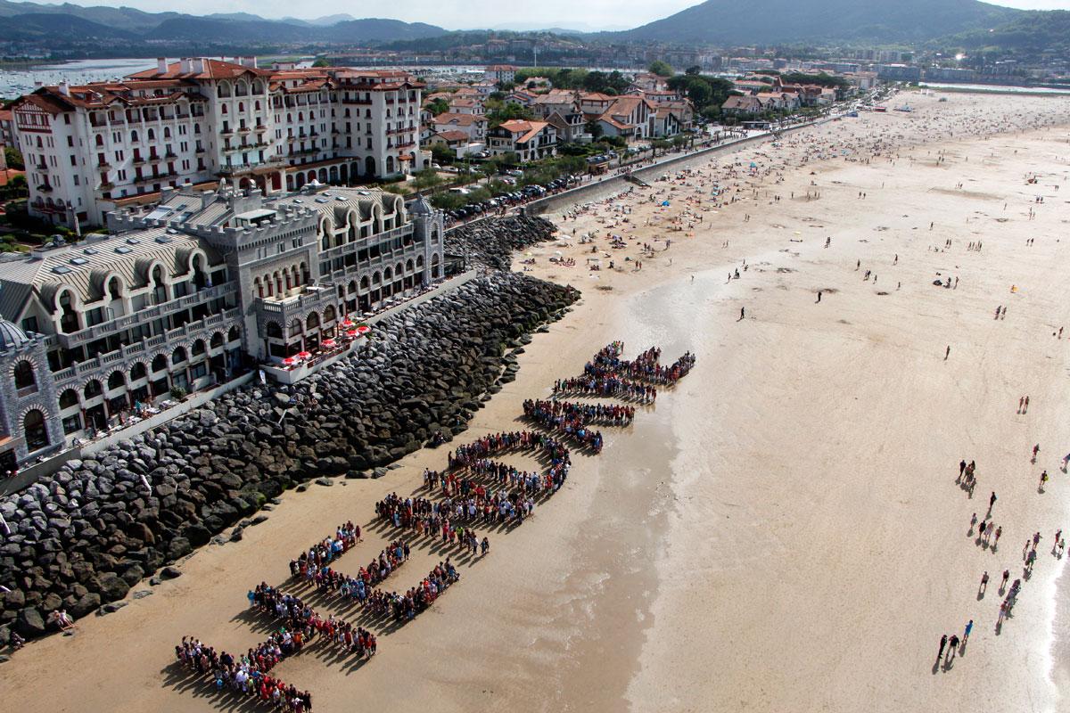 Playa de Hendaya. Tu Gran Viaje