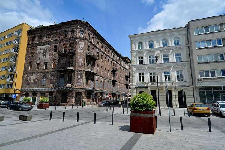 Ulica Prozna de Varsovia. Foto CC Adrian Grycuk