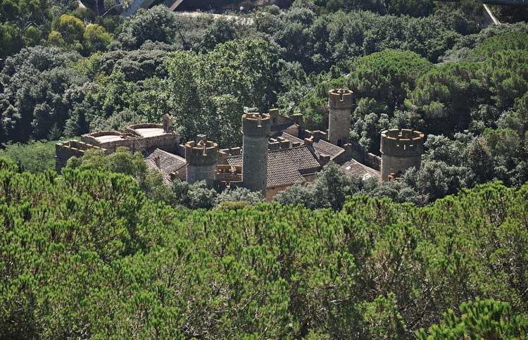 """El nuevo castillo de """"Juego de Tronos"""", el castell de Santa Florentina"""