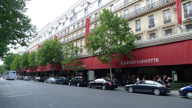 Galerías Lafayette-Haussmann, París