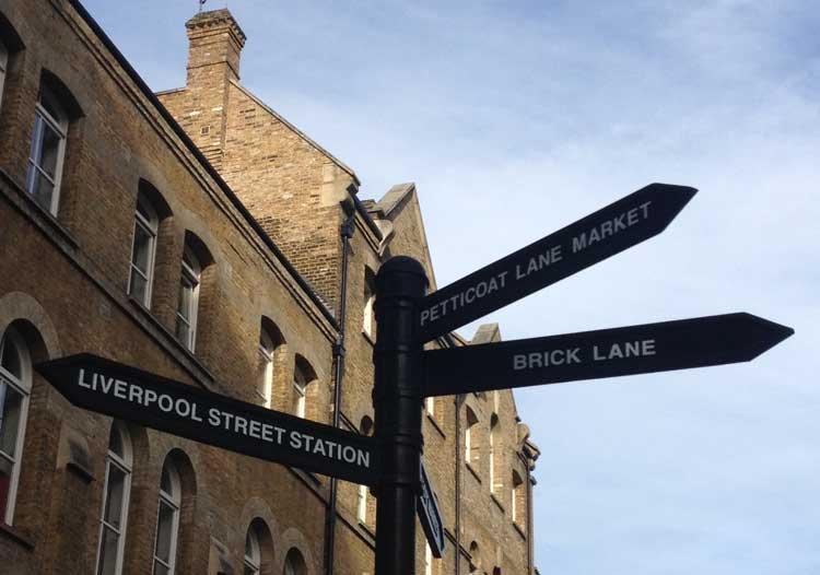 Brick Lane, East End. © Tu Gran Viaje