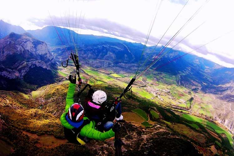 Paraglinding Experience. Majestic Hotel & Spa Barcelona