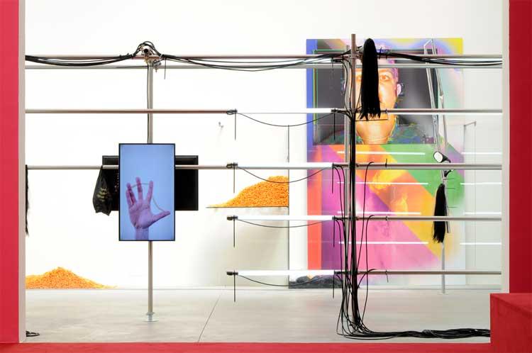 Obra de Pepo Salazar en el Pabellón de España de la Biennale de Venecia 2015