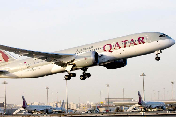 Boeing 787 Dreamliner de Qatar Airways