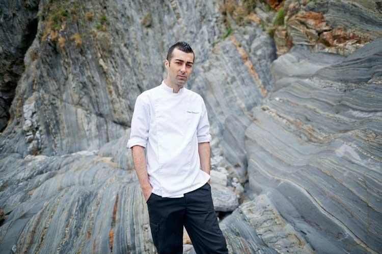 Diego Fernández, restaurante Regueiro. Foto © Juan Rayos