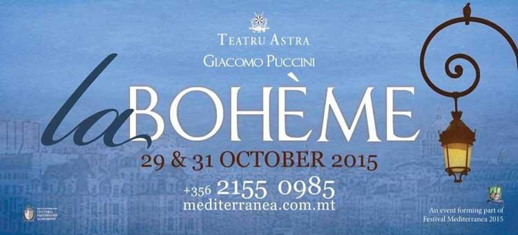La Boheme en el Teatru Astra de Gozo