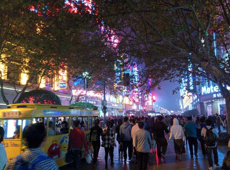 Nanjing Road. Foto © Clemente Corona / Tu Gran Viaje