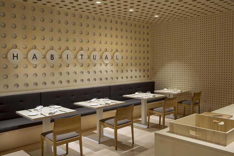 Restaurante HABITUAL de Ricard Camarena en Valencia