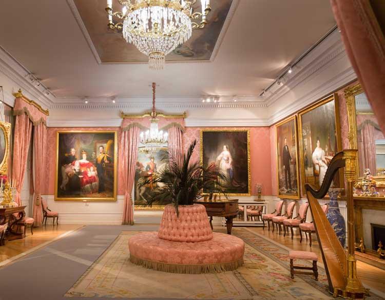Sala de Baile del Museo del Romanticismo de Madrid. Foto © Javier del Real - Teatro Real