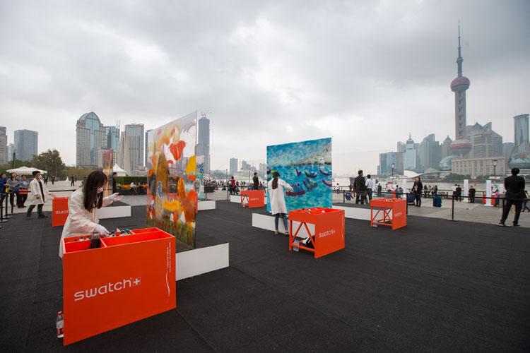 Faces & Traces en Tu Gran Viaje. The Swatch Art Peace Hotel street Art festival in Shanghai