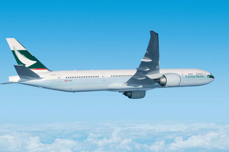 Cathay Pacific, mejor aerolinea transpacifica de 2015