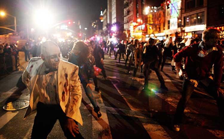 Desfile de Halloween en Nueva York. © Joe Buglewicz - NYGo