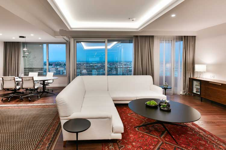 Suite presidencial. NH Collection Eurobuilding
