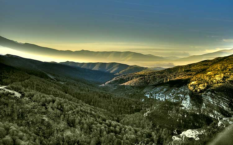 Parque Natural de Saja Benasa, Cantabria.