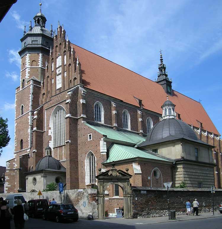 Iglesia del  del Corpus Christi (Kościół Bożego Ciała) de Cracovia.