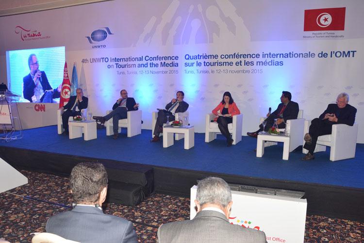 Medios y Turismo. Conferencia en Túnez de la UNWTO moderada por Clemente Corona, director de la agencia TGV LAB. Foto CC 2.0 UNWTO
