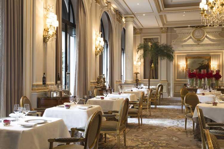 Le Cinq Restaurant. Guía Michelin Francia 2016
