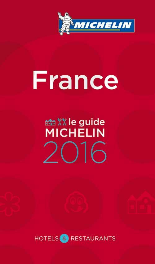 Portada de la Guía Michelín Francia 2016