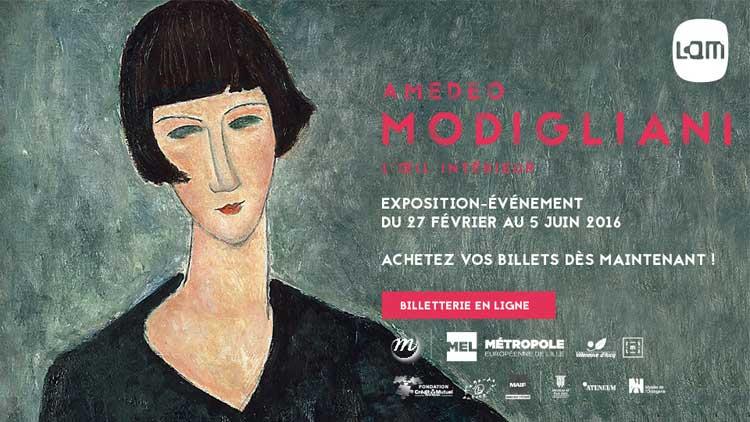 Modigliani en el Musee Lam de Lille Nord-Pas de Calais
