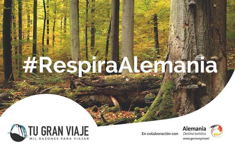 #RespiraAlemania. Una accion de TGV LAB en colaboracion con Turismo de Alemania