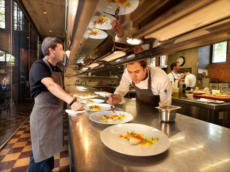 Volta Restaurant, Gante. Foto © www.milo-profi.be