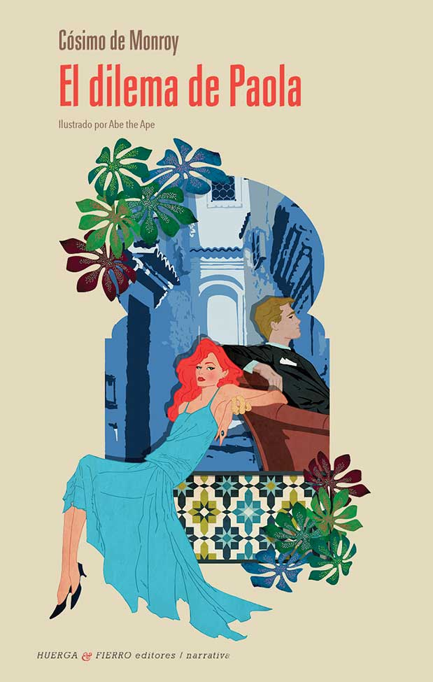 Portada de El dilema de Paola (Huerga & Fierro Editores), de Cósimo de Monroy