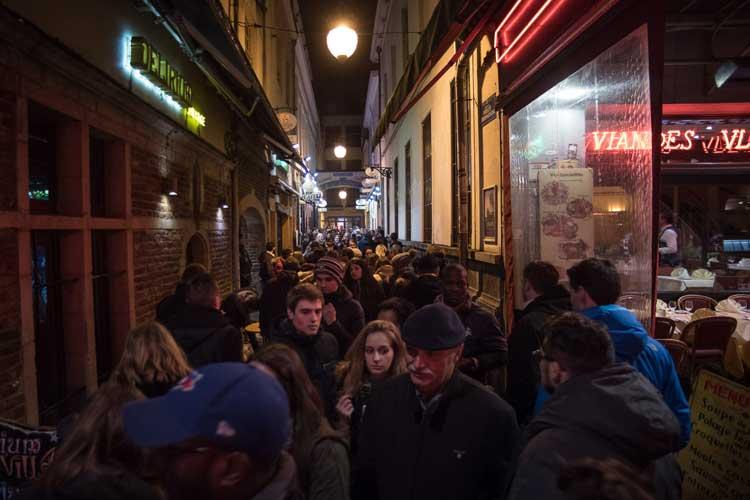Delirium Café en Bruselas. © Carmelo Jordá. Flandes Exquisita en Tu Gran Viaje