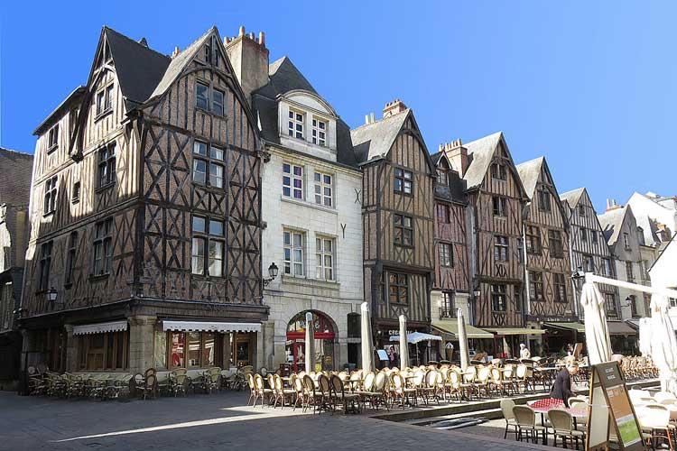 Place Plumereau, Tours. Tu Gran Viaje por el Valle del Loira