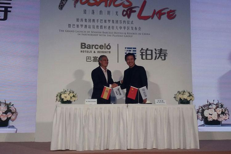 Acuerdo de Barceló Hotel Group y Plateno. Tu Gran Viaje