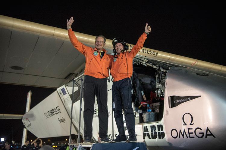 La vuelta al mundo del Solar Impulse