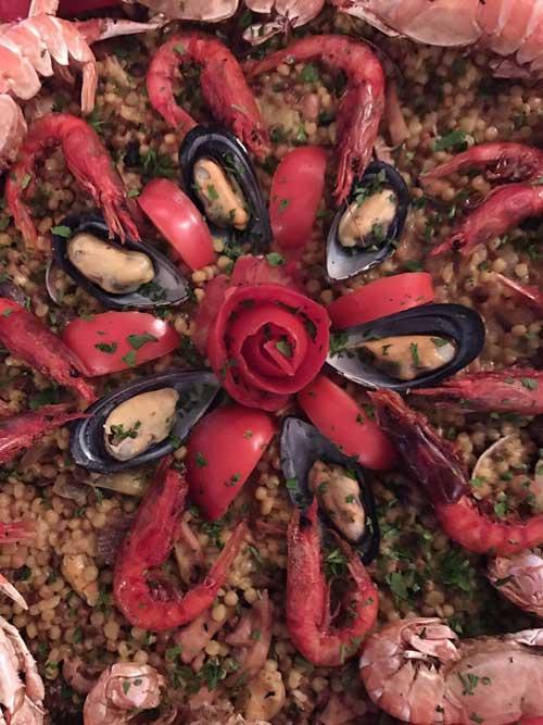Paella de Alghero. Viajar a Cerdeña en otoño. Tu Gran Viaje