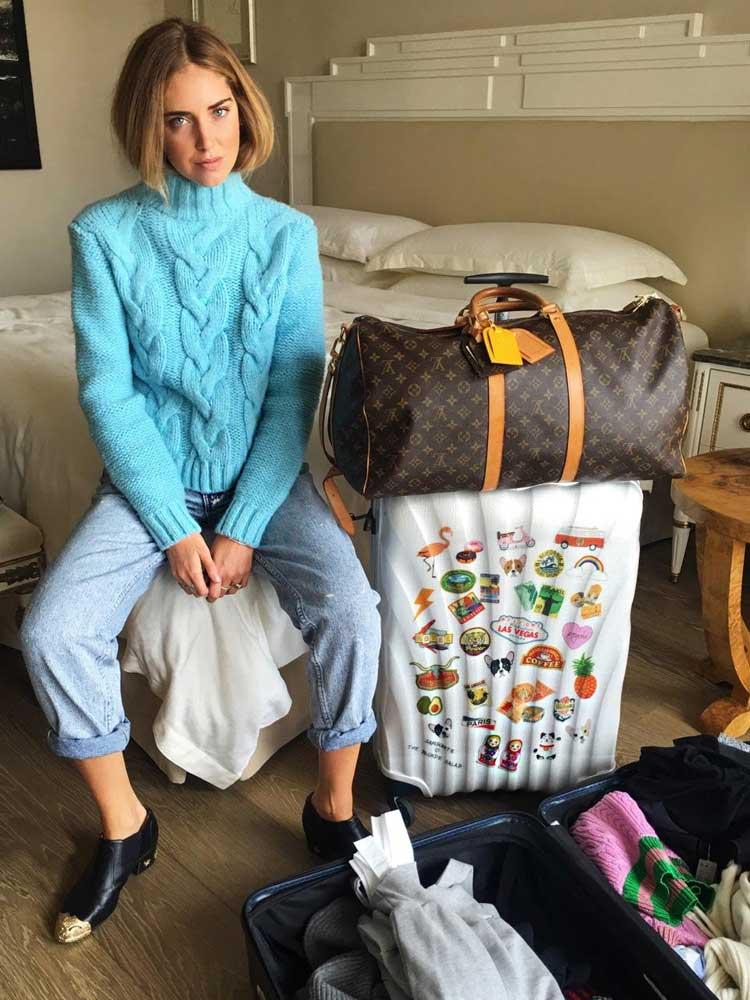 La maleta de Chiara Ferragni para Samsonite en Tu Gran Viaje