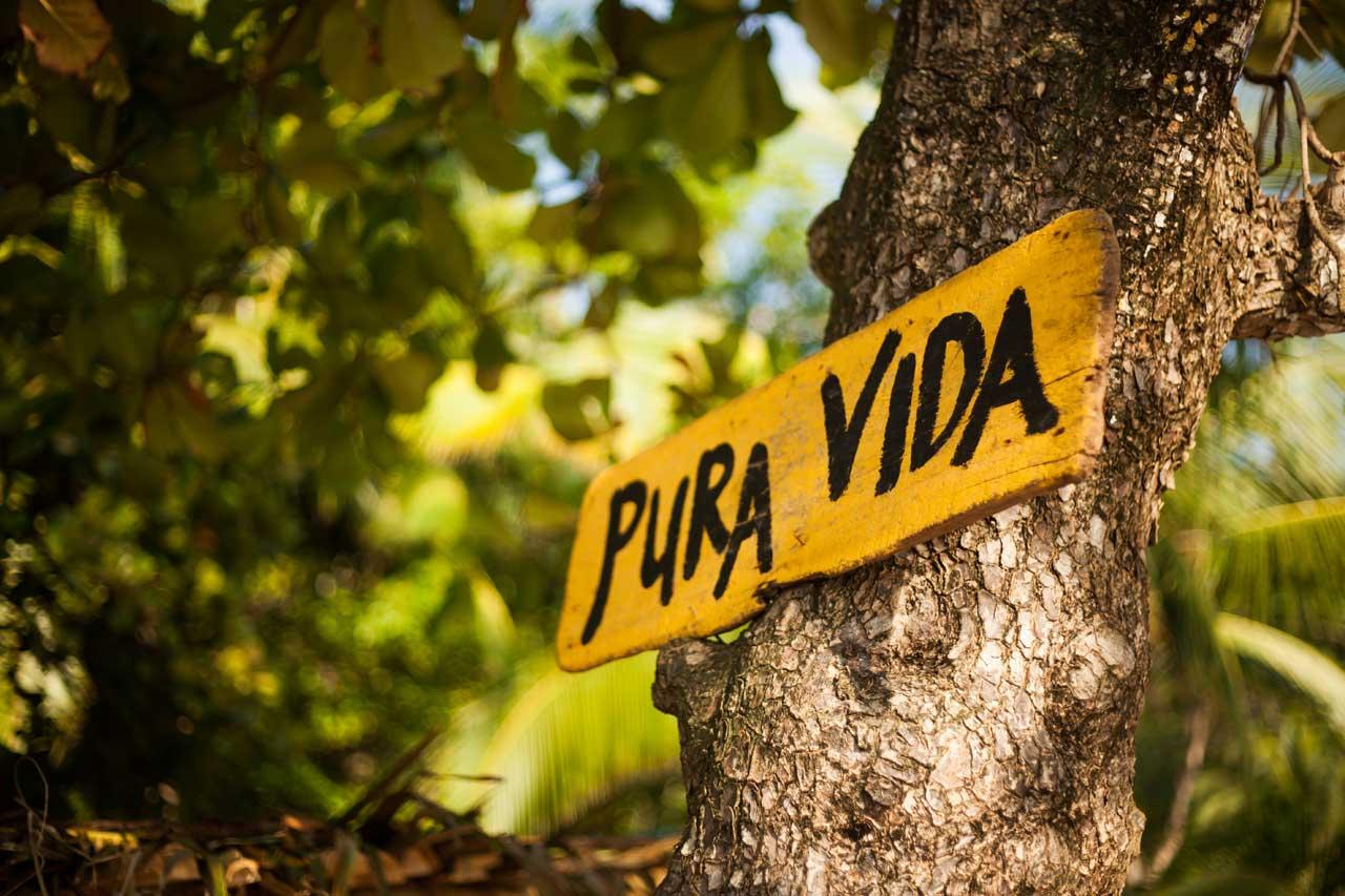 Pura Vida. Tu Gran Viaje a Costa Rica. © Shutterstock
