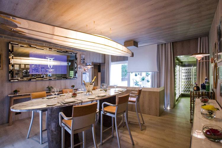 Villa Torii, restaurante de Philippe Starck en Madrid