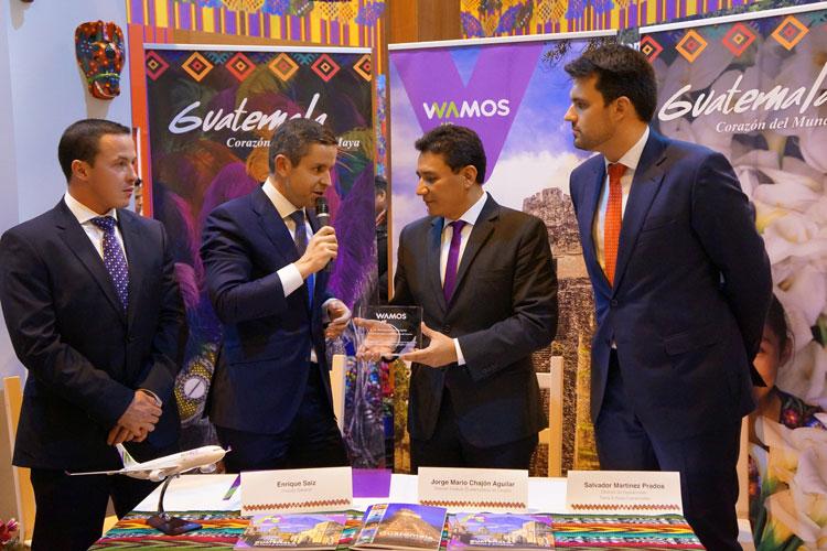 WAMOS Air lanza nueva ruta a Guatemala