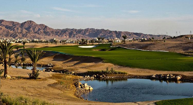 Campo de Golf en Jordania en el mar Rojo. Tu Gran Viaje. Revista de Viajes y Turismo