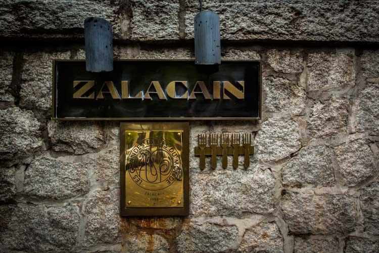 Zalacain. Gastronomia en Tu Gran Viaje. Revista de viajes y turismo