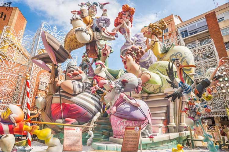 Las Fallas de Valencia 2017 en Tu Gran Viaje