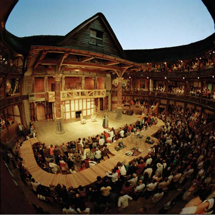 Globe Theate. Foto © VisitBritain. El cumpleaños de Shakespeare en Tu Gran Viaje
