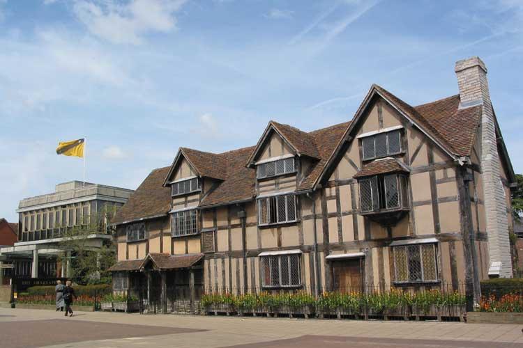 Casa natal de William Shakespeare. El Cumpleaños de Shakespeare en Tu Gran Viaje
