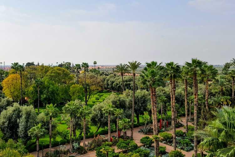 Jardines de La Mamounia. © Tu Gran Viaje
