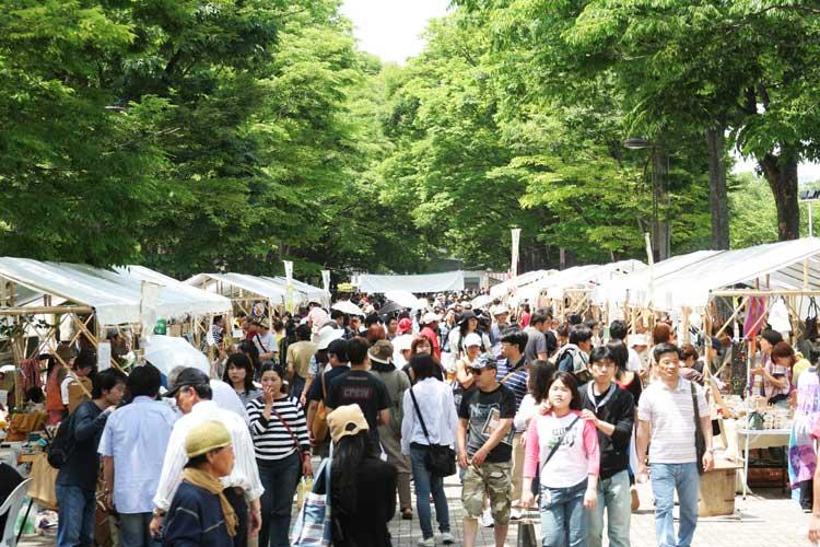 Earth Day Market de Tokyo. Los mercados de Tokio en tu Gran Viaje